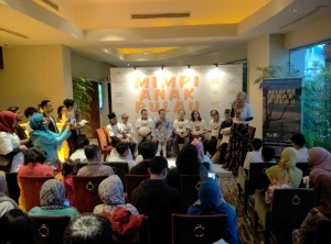 "Suasana jumpa pers film ""Mimpi Anak Pulau"" di Jakarta, Sabtu (13/8/16). Foto Ibrahim"